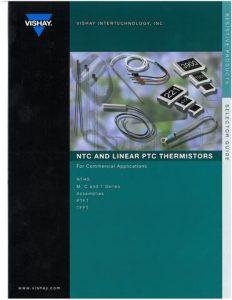 NTC and Linear PTC Thermistors