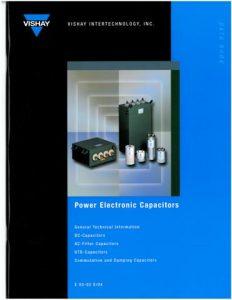 Power Electronic - MKP, GTO, GMPK Series